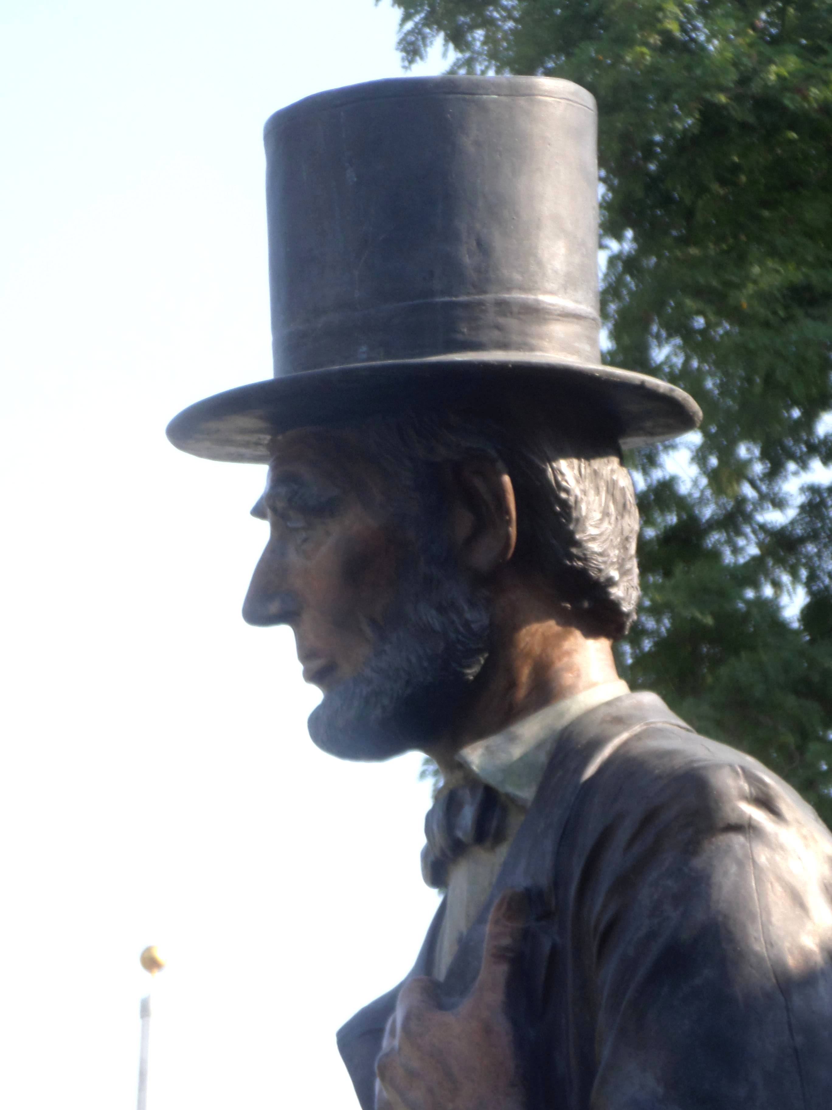 Lincoln in Peekskill